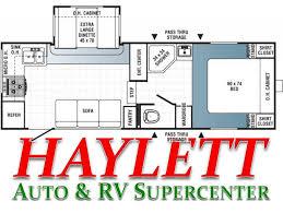 2010 Jayco 5th Wheel Floor Plans by 2010 Palomino Puma 245rks Fifth Wheel Coldwater Mi Haylett Auto