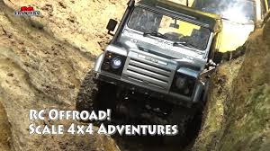 100 Rc Scale Trucks RC Offroad Adventures RC Toyota Hilux Land Rover