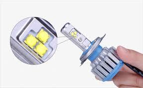tc x car lights led headlight kit h7 h1 h4 h11 9006 9005 h3 880