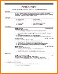 Mental Health Counseling ResumeMassage Therapist Resume Sample Counselor Objective