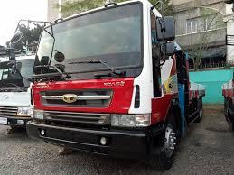 Daewoo 10 Wheeler Boom Truck With 10 Tons Crane Dongyang SS2515 ...