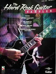 Guitar Tablature Hard Rock Sampler Tab Songbook