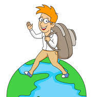 Traveling Around The World Clipart 5911 Size 92 Kb From Travel