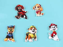 paw patrol figuren zuckerdekoration
