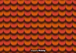 seamless pattern of clay roof tiles vector free