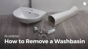 Unclogging A Bathroom Sink Youtube by How To Remove A Bathroom Sink Household Diy Projects Sikana