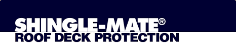 gaf shingle mate synthetic roofing felt underlayment