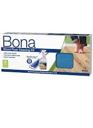 Bona Hardwood Floor Mop by Wood Floor Cleaning Kit For Clean Wood Floors
