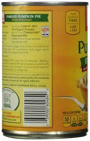 Pumpkin Pie Libbys Recipe by Amazon Com Libby U0027s 100 Pure Organic Pumpkin 15 Oz Grocery