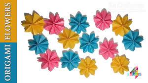 DIY Simple Origami Paper Flowers Easy