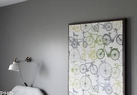 DIY Framed Stretched Canvas Wall Art