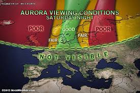 Dazzling Northern Lights Anticipated Tonight
