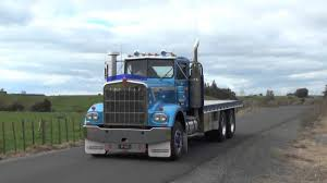 Trucks New Zealand 1977 Kenworth W-Model - YouTube