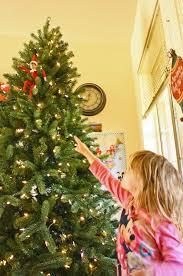 Prelit Christmas Tree Self Rising by Counting Pinecones November 2014