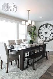 Luxury Farmhouse Dining Room Set Of Modern Home Ideas Pinterest