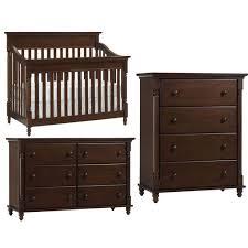 Graco Espresso Dresser Furniture by Europa Baby Cameron Convertible Crib Furniture Set Chocolate