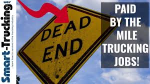 100 Yellow Trucking Jobs Why A Paid By The Mile Job Is A Dead End Career YouTube