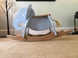 Hand Crafted Elephant Rocker | Wood Toys, Kids Furniture ... Charles Eames Rocking Chair Elephant Grey At 1stdibs Kristalia Rocking Chair Whiteoak L Ozkezlabxrf3lvr6gqyw Solid Wooden Rocker Leather By Stylepark 1st Generation Elephant Hide Grey Rope Edge Armchair Buy Animal Adventure Circus Online Teamson Kids Safari Chairs Play Mamas Papas Ellery Vidaxl Baby Bouncers Rockers
