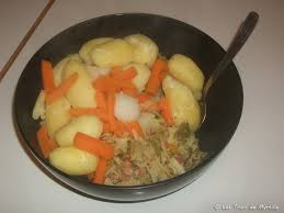 la cuisine de myrtille embeurrée de chou vert pommes de terre et