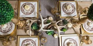 Decorating Awesome Rustic Christmas And New Years Eve Party Decoration Ideas Dining Table