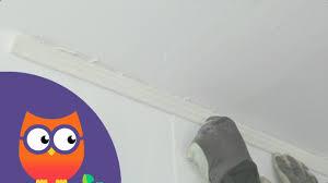 comment poser une corniche au plafond ooreka fr vidéo dailymotion