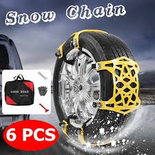 100 Snow Chains For Trucks Thicker TPU Universal Car Suit Tyre General Automobile