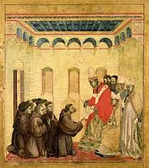 francis receiving the stigmata giotto
