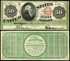 United States Fifty Dollar Bill