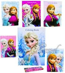 Image Is Loading 12 Disney Frozen Anna Elsa Olaf Coloring Books