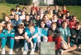 photo de classe 4ème 2 de 1991 collège jean de la varende