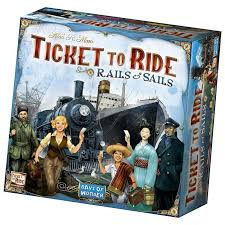 Ticket To Ride Rails Sails