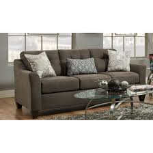 formidable simmons flannel charcoal sofa pictures inspirations