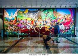Denver International Airport Murals Removed by Denver International Airport Airplane Stock Photos U0026 Denver