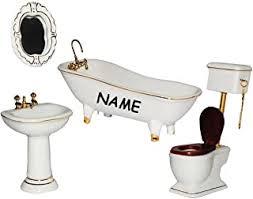 möbel jiacuo 1 6 puppenhaus miniaturen elektrische badewanne