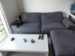 housse de canapé 3 places ikea ikea canap deux places ikea nockeby bank met grijze bekleding