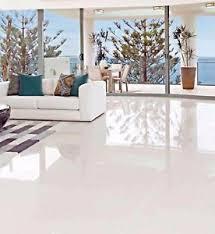 glazed polished porcelain tile 24x24 iceberg white bright