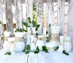 Rustic Wedding Centerpieces Decor Ideas Diy For Sale Without Flowers