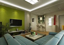 luxurious green tv wall for living room with green wall and l