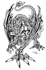 Dragon Coloring Page Download Pages Of Dragons