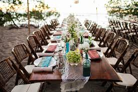 Tropical Occasions Costa Rica Lace Beach Wedding Destination Planners Rustic