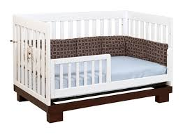 bedroom babyletto modo 3 in 1 convertible crib espresso and white