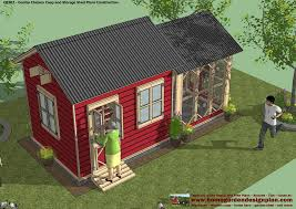 Shed Design Plans 8x10 by Chicken Coop Plans Shed 9 Combo Plans Chicken Coop Plans