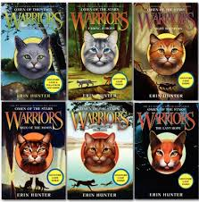 Warriors Cats Series 4 Omen Of The Stars 6 Books Box Set Collection By Erin Hunter
