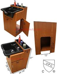 Portable Sink For Salon by Cc 132 503b Shampoo Cabinet With Bowl For The Salon Pinterest