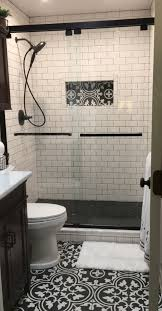 small bathrooms are a great place to get creative here are