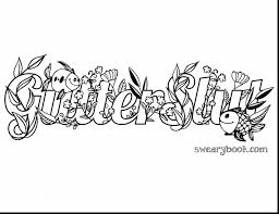 Brilliant Adult Swear Words Coloring Book Pages With Word Coloring