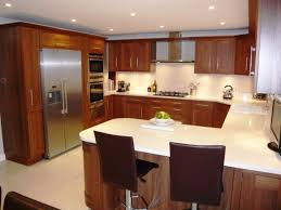 U Shaped Kitchen Designs Small With Breakfast Bar Home Improvement Long Galley Layout Dimensions Definition G Shape Best Setup Remodel Floor Plans Island