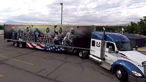 2018 Utah State Football Truck & Trailer Reveal - YouTube Parts Service Wasatch Trailer Sales Layton Utah Dontcrdtheplow Snow Plow Crash In Spanish Fork Canyon Youtube Diesel Brothers Star Ordered To Stop Selling Building Smoke Weber County Fires Employee Caught On Video Berating Family At Young Hino Life Elevated Trucksim Lift Tech Automatic Truck Door Auto Opener Cstk Playbox Is Utahs Game And For Video Birthday Driver Dies As Pickup Truck Goes Off I15 Crashes Into Urch Fruehauf Cporation Wikipedia 56 Wheels About 220 From Back Of Trailer Front Found