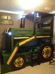 John Deere Bedroom Decorating Ideas by What Little Boy Wouldn U0027t Want A Giant Tractor In Their Room