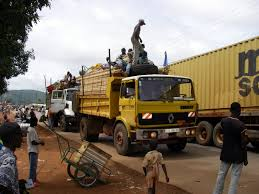 Image - Central African Republic - Trucks In Bangui.jpg | Alternate ...